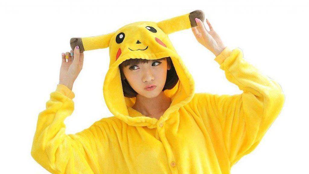 Pyjama Pikachu combinaison